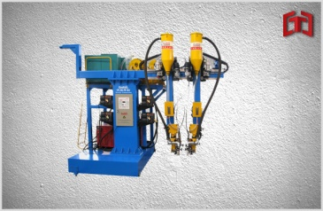 Cantilever type box beam welding machine