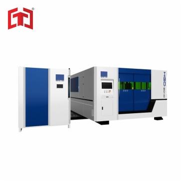 Fiber laser cutting machine (exchange table closed model)