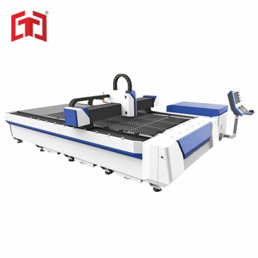 Dual drive fiber laser metal plate cutting machine 500-3000w