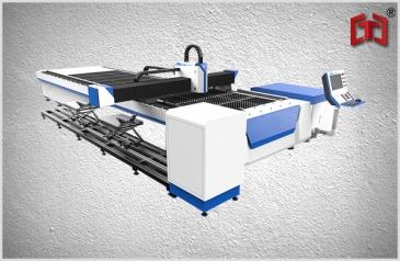 Plate and pipe fiber laser cutting machine 500-1500w