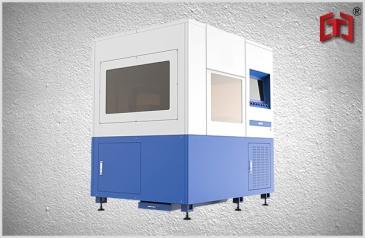 Precise fiber laser metal plate cutting machine 500w