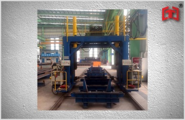 Gantry type box beam welding machine