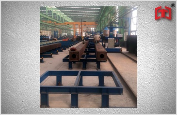 Box beam steel production line