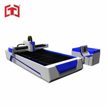 Single drive fiber laser metal plate cutting machine 500-1000w
