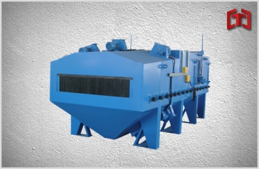Sheet shot blasting machine